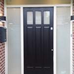 External Hardwood Front Doors with Custom Finish