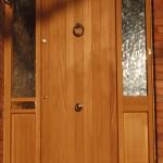 External Hardwood Front Doors in Iroko wood