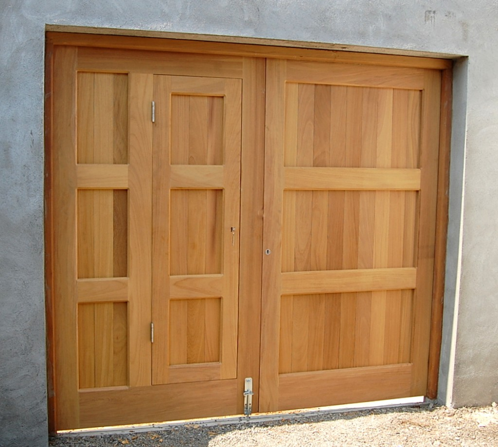 Shed With Garage Door